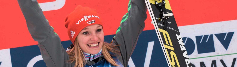 Sportsponsoring,Triceps, Athletenmanagement, Katharina Althaus, Skispringen